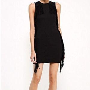 Top shop mini bodycon fringe dress